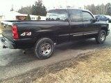 Black Chevrolet Silverado 1500 in 2004