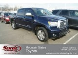 2011 Nautical Blue Toyota Tundra Limited CrewMax 4x4 #60973154