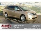 2012 Sandy Beach Metallic Toyota Sienna XLE AWD #60973125
