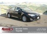 2012 Attitude Black Metallic Toyota Camry LE #60973121