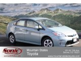2012 Sea Glass Pearl Toyota Prius 3rd Gen Two Hybrid #60973114
