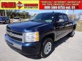 2010 Imperial Blue Metallic Chevrolet Silverado 1500 LS Extended Cab #60973664