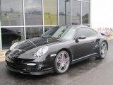2007 Basalt Black Metallic Porsche 911 Turbo Coupe #60973407
