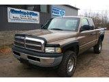 2001 Medium Bronze Pearlcoat Dodge Ram 1500 ST Club Cab 4x4 #60973400