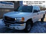 2005 Summit White GMC Sierra 2500HD SLE Extended Cab 4x4 #60973398