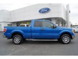 2010 Blue Flame Metallic Ford F150 XLT SuperCab #60973356