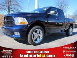 2012 True Blue Pearl Dodge Ram 1500 Express Quad Cab #60973352