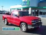 2007 Victory Red Chevrolet Silverado 1500 Classic Work Truck Regular Cab #61027077