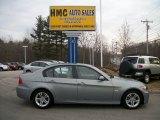2008 Arctic Metallic BMW 3 Series 328xi Sedan #61027322