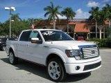 2011 White Platinum Metallic Tri-Coat Ford F150 Limited SuperCrew 4x4 #61026787