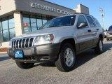 2002 Silverstone Metallic Jeep Grand Cherokee Laredo 4x4 #61026764