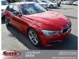 2012 Melbourne Red Metallic BMW 3 Series 335i Sedan #61026935