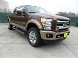 2012 Golden Bronze Metallic Ford F250 Super Duty King Ranch Crew Cab 4x4 #61026905