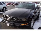 2007 Black Ford Mustang V6 Deluxe Coupe #61027123