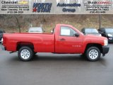 2012 Victory Red Chevrolet Silverado 1500 Work Truck Regular Cab #61074677