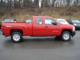 2012 Victory Red Chevrolet Silverado 1500 Work Truck Extended Cab 4x4 #61074676