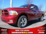 2012 Deep Cherry Red Crystal Pearl Dodge Ram 1500 Express Quad Cab #61074660