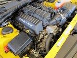 2012 Dodge Challenger SRT8 Yellow Jacket 6.4 Liter SRT HEMI OHV 16-Valve MDS V8 Engine