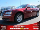 2012 Deep Cherry Red Crystal Pearl Chrysler 300  #61074652