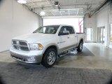 2011 Bright White Dodge Ram 1500 Laramie Crew Cab 4x4 #61075154
