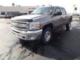 2012 Graystone Metallic Chevrolet Silverado 1500 LT Crew Cab 4x4 #61074891