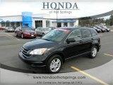 2011 Crystal Black Pearl Honda CR-V EX-L 4WD #61074816