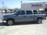 2006 Blue Granite Metallic Chevrolet Silverado 1500 LS Crew Cab #61074542