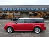 2010 Red Candy Metallic Ford Flex SEL EcoBoost AWD #61074805