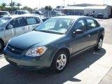 2007 Blue Granite Metallic Chevrolet Cobalt LS Sedan #6090880
