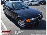 2000 Jet Black BMW 3 Series 323i Sedan #61074769