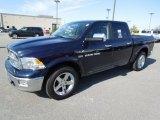 2012 True Blue Pearl Dodge Ram 1500 Laramie Crew Cab #61075005