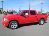 2012 Flame Red Dodge Ram 1500 Express Crew Cab 4x4 #61075002