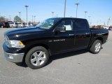 2012 Black Dodge Ram 1500 Big Horn Crew Cab 4x4 #61075001