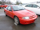 2003 Victory Red Chevrolet Cavalier Coupe #61074461