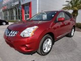 2012 Cayenne Red Nissan Rogue SV #61074984