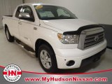 2008 Super White Toyota Tundra Limited Double Cab #61074293