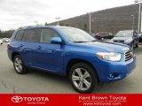 2008 Blue Streak Metallic Toyota Highlander Sport 4WD #61113270