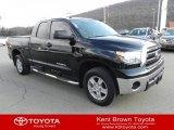 2010 Black Toyota Tundra Double Cab 4x4 #61113261