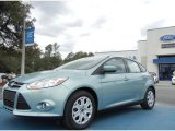 2012 Frosted Glass Metallic Ford Focus SE 5-Door #61112695