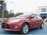 2012 Red Candy Metallic Ford Focus SEL 5-Door #61112690