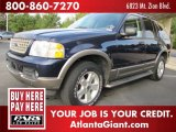 2003 True Blue Metallic Ford Explorer Eddie Bauer #61113242