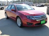 2010 Sangria Red Metallic Ford Fusion SE V6 #61113792