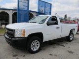2012 Summit White Chevrolet Silverado 1500 Work Truck Regular Cab 4x4 #61112674
