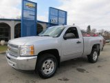 2012 Silver Ice Metallic Chevrolet Silverado 1500 LT Regular Cab 4x4 #61112672
