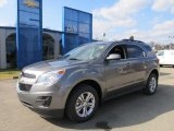2012 Graystone Metallic Chevrolet Equinox LT AWD #61112668