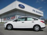 2012 Oxford White Ford Focus S Sedan #61112655