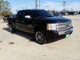 2009 Black Chevrolet Silverado 1500 LT Crew Cab #61113779