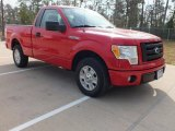 2010 Vermillion Red Ford F150 STX Regular Cab #61113775