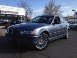 2003 Steel Blue Metallic BMW 3 Series 330xi Sedan #61112617