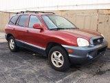 2004 Merlot Red Hyundai Santa Fe GLS 4WD #61112602